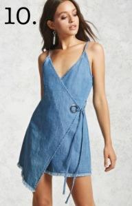 chambray summer dress